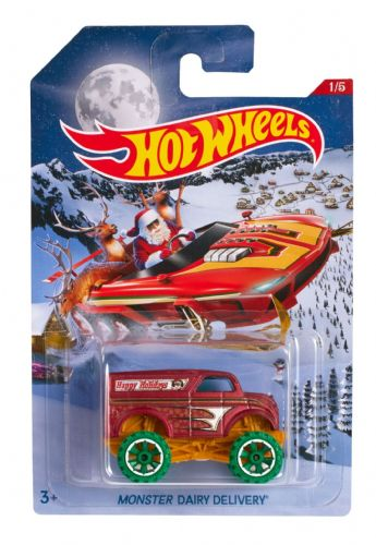 Hot Wheels Hot Rod Monster Diary Delivery Die-Cast Car